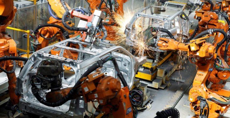 ipari kép autó összeszerelés