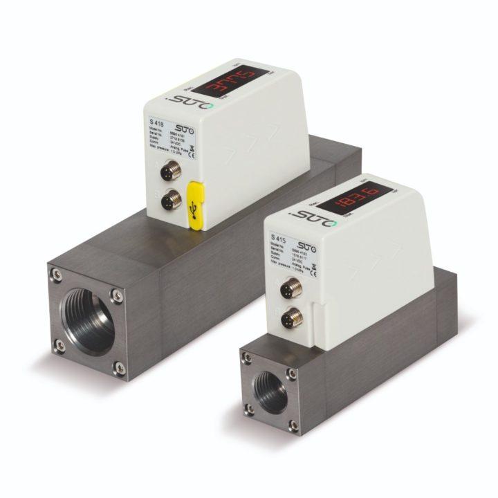 S415 / S418 menetes szerelésű áramlásmérő