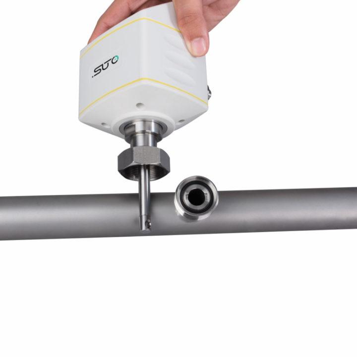 sűrített levegő áramlálásmérő egyszerű szerelés