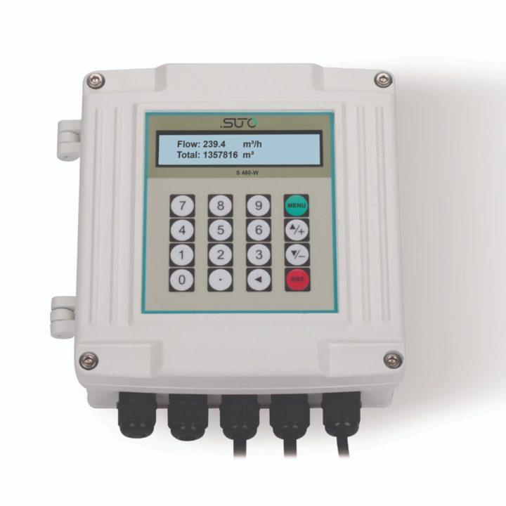 s460 ultrahangos áramlásmérő kijelző