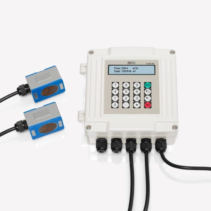 s460 ultrahangos átfolyásmérő felcsatolható érzékelőkkel