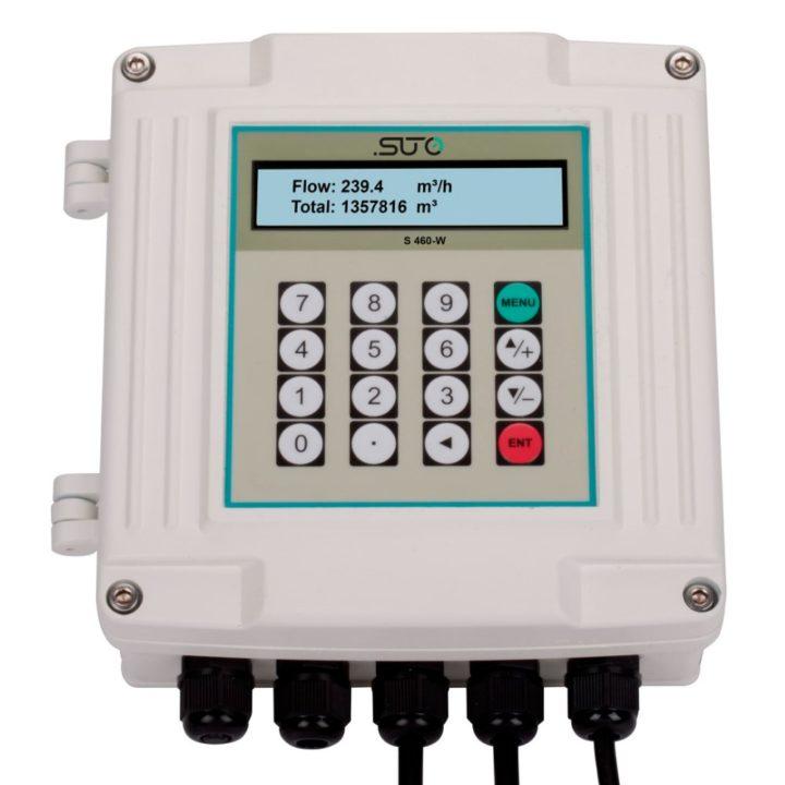 ultrahangos áramlésmérő folyadék kijelzővel