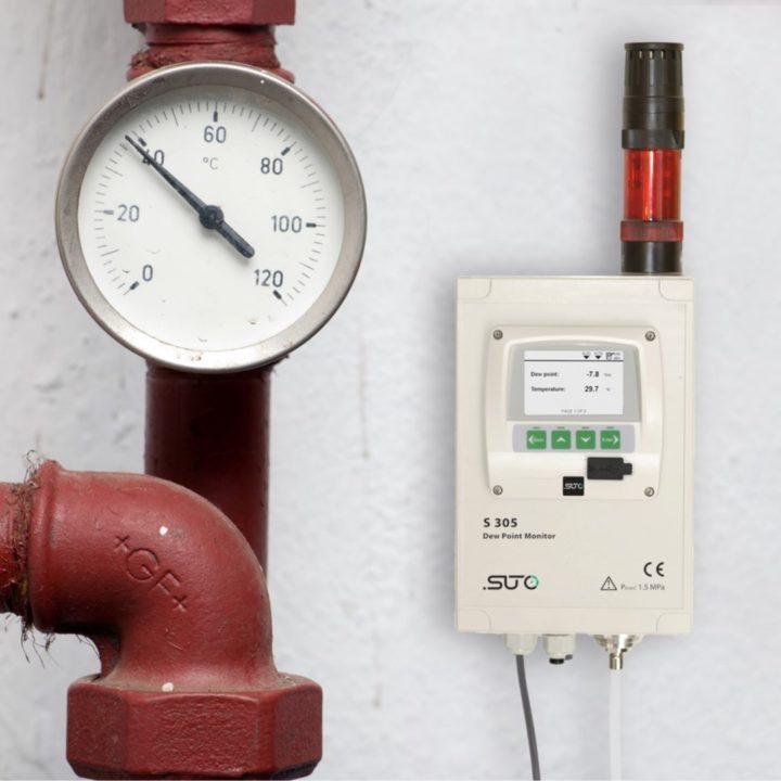 s305 harmatpont monitor riasztással