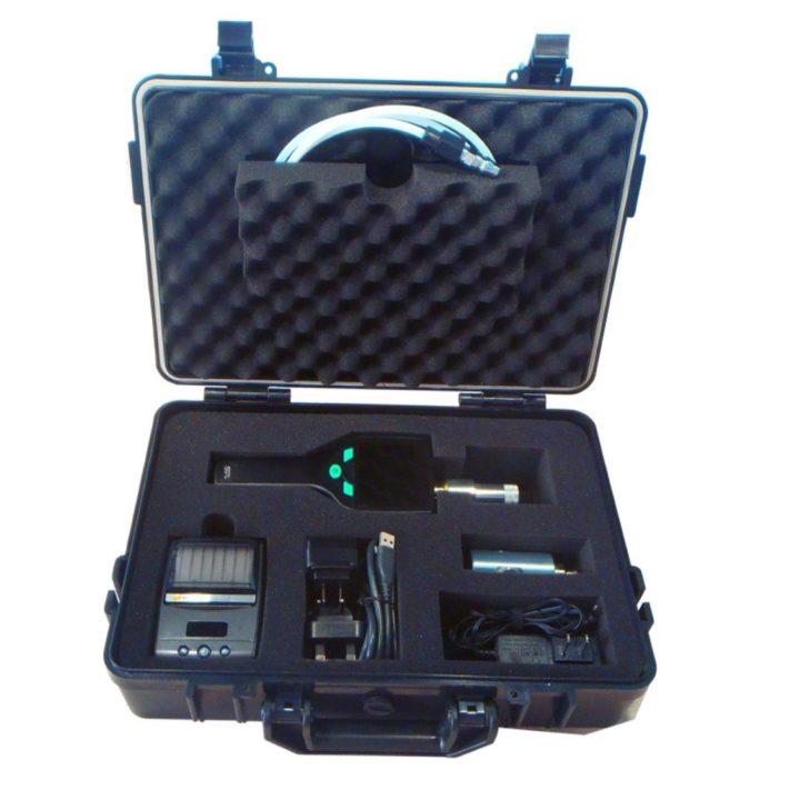 s505 kézi harmatpontmérő szett bőröndben