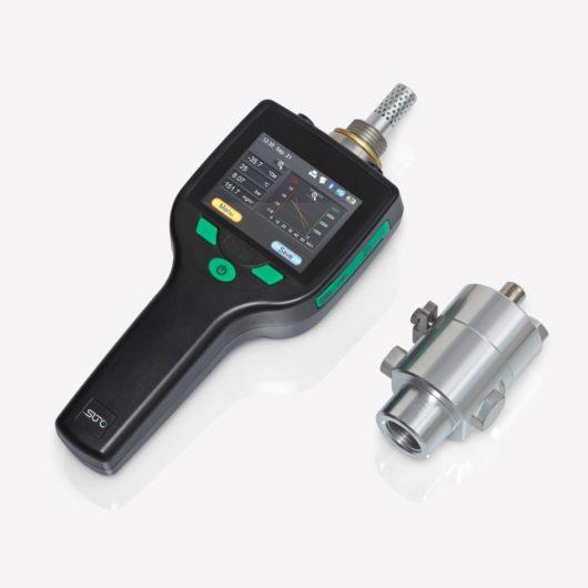 horodzható sűrített levegő harmatpontmérő szenzor mérőkamra