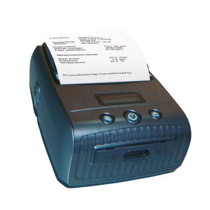 sűrített levegő mérő nyomtató