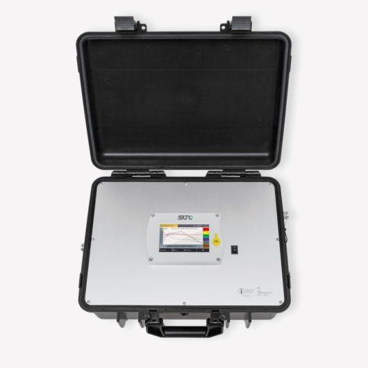 s600 sűrített levegő minőség mérő bőrönd