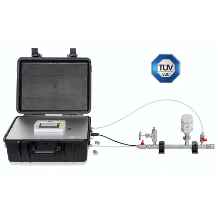 s600 suritett levego analizator mintavevővel tuv