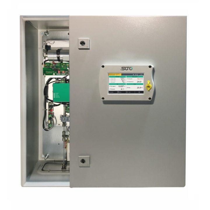 s601 sűrített levegő minőség analizátor telepített