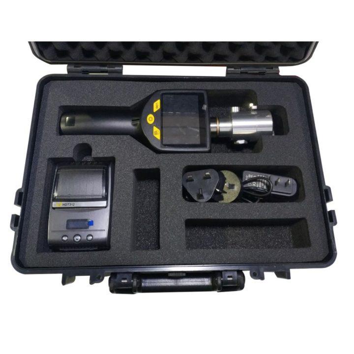 harmatpontmérő műszerbőrönd