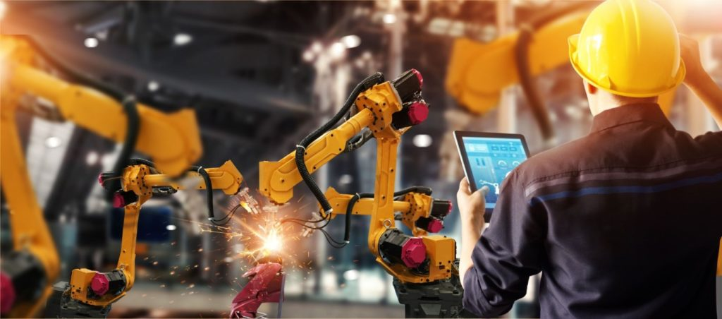 ipar 4.0 automatizálás robot