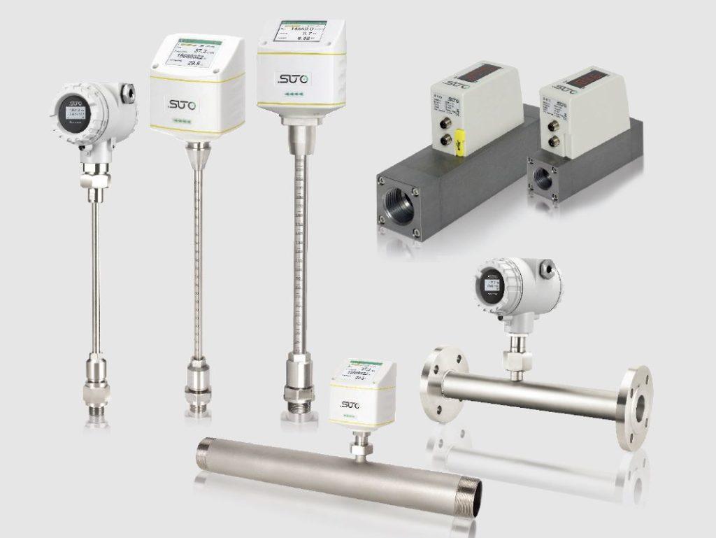 sűrített levegő áramlásmérők