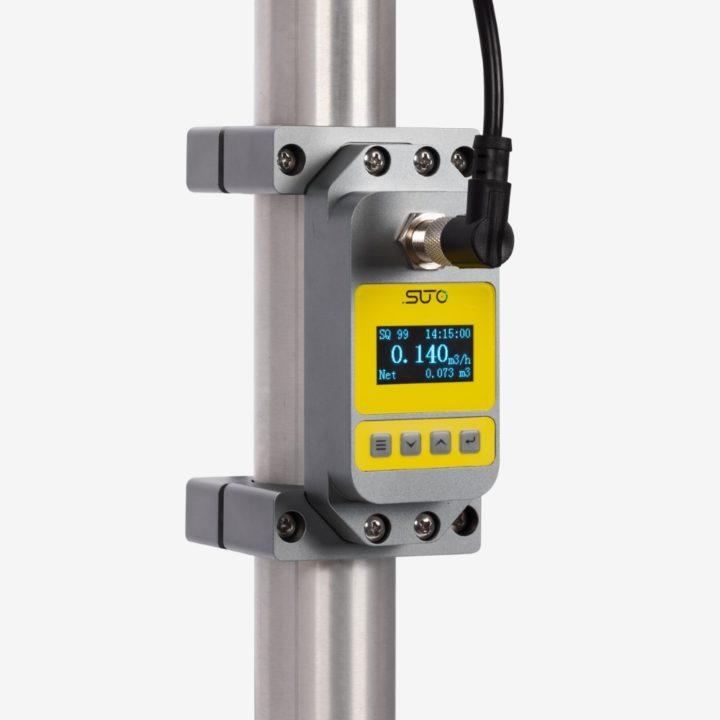 ultrahangos áramlásmérő csőre szerelhető